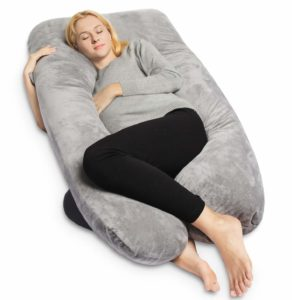 Almohada Queen Rose Gris